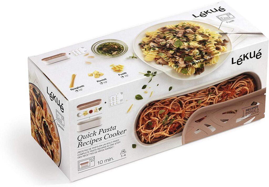 Lekue Terracotta Microwave Pasta Cooker