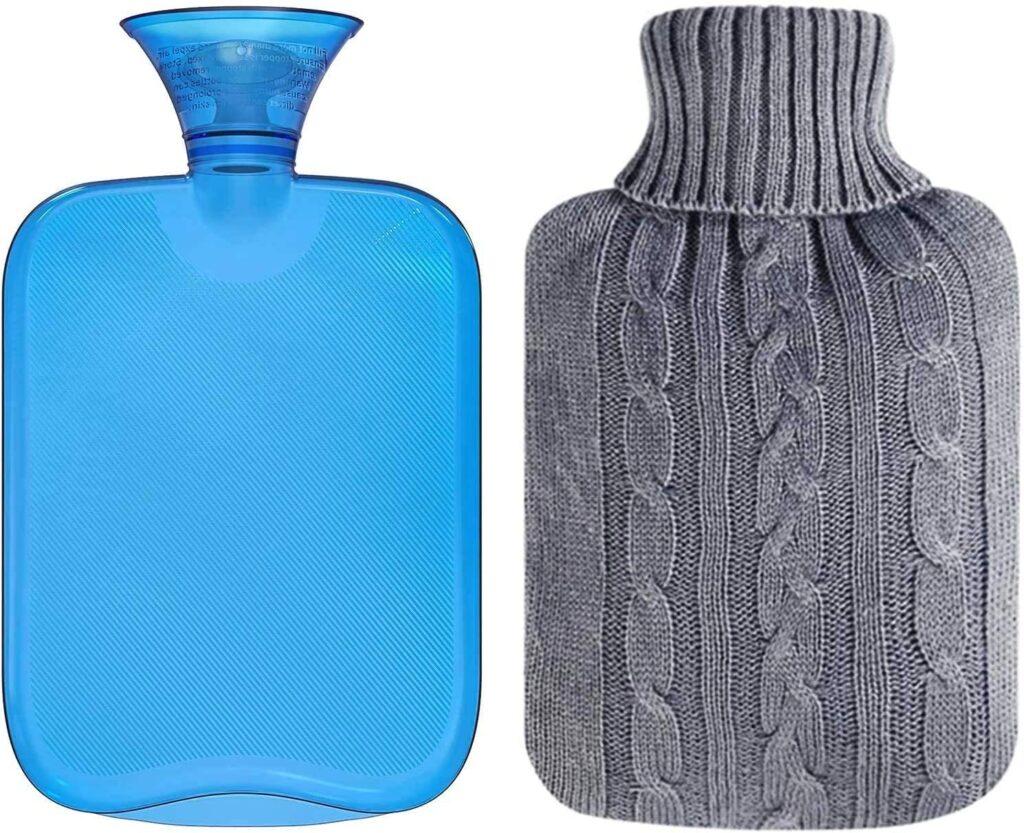 All One Tech Transparent Rubber Hot Water Bottle